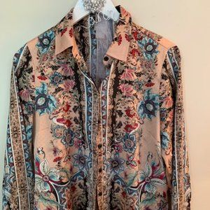 Gorgeous Floral Silky Blouse....